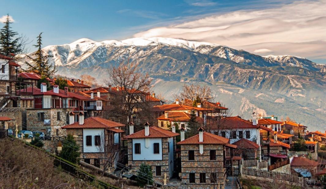 Παλαιός Παντελεήμονας Πιερίας βουνό εναλλακτικοί χειμερινοί προορισμοί