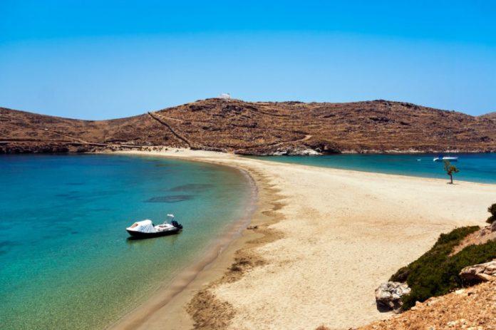 Κύθνος παραλία οικονομικά ελληνικά νησιά