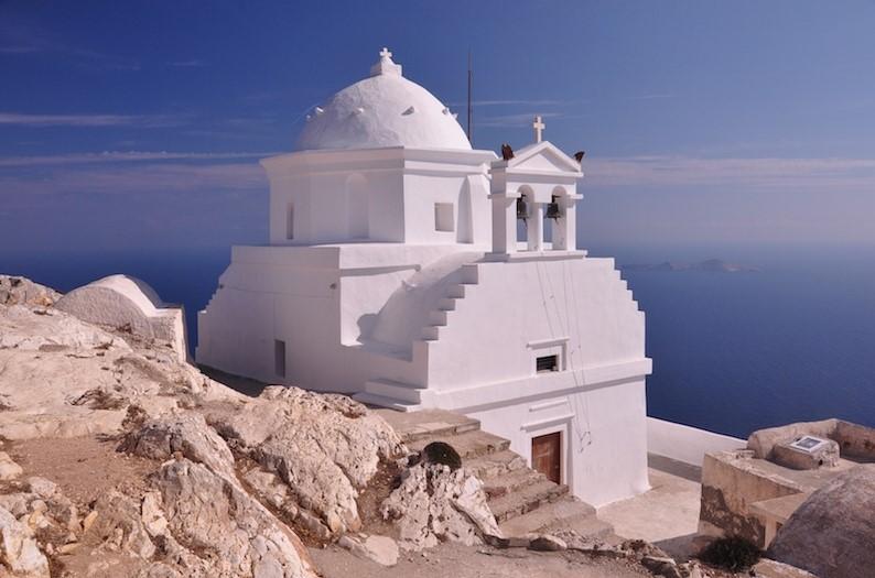 Ανάφη εκκλησία ανερχόμενα νησιά