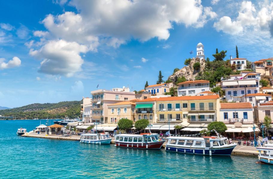 Πόρος νησιά Ελλάδας οδικώς