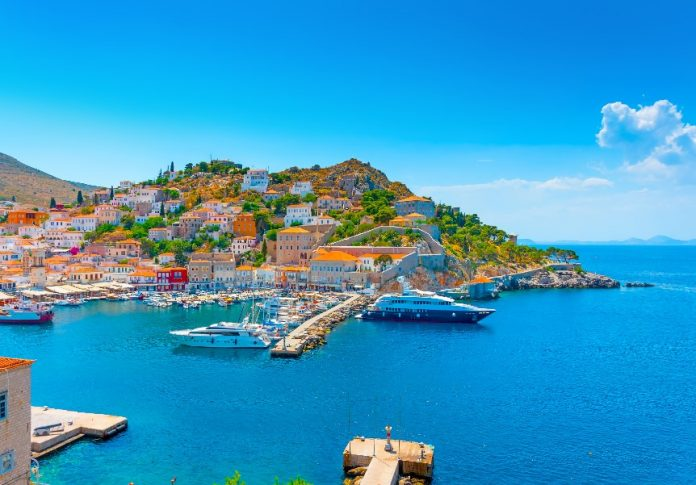 Ύδρα νησιά Ελλάδας οδικώς