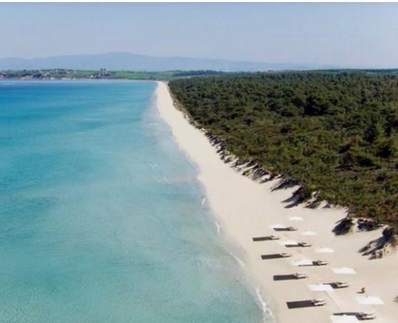 παραλία Σάνη