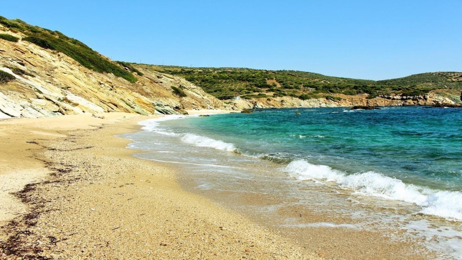 στόμιο παραλία στην Εύβοια