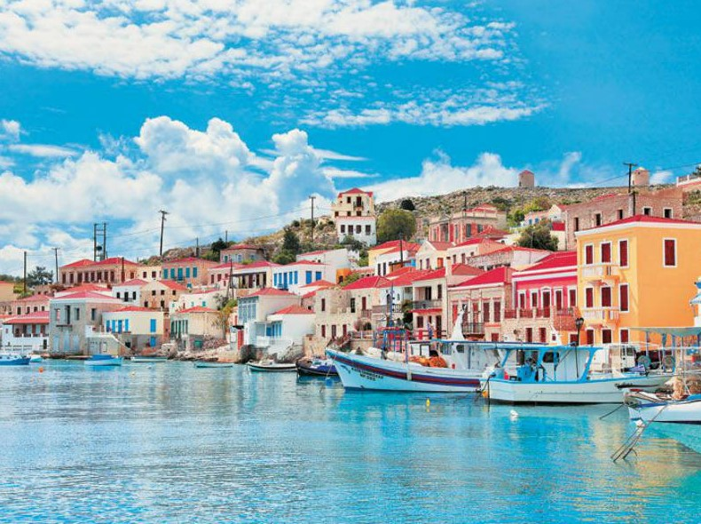 Χάλκη λιμάνι μικρά νησιά